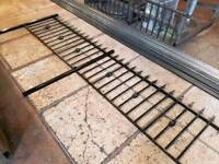 2X WROUGHT IRON RAILINGS / FENCE PANELS