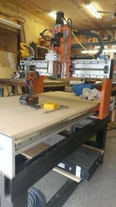 Shop made CNC router