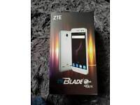 "ZTE ANDROID 6.0 2GB 16GB FINGERPRINT 5"" SMART PHONE 1 DAY OLD IN GOLD £50"
