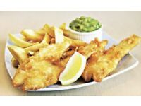 Staff wanted for fish and chips/pizza and kebab shop