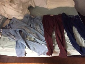 4 pares of garage jeans