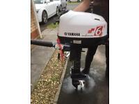 Yamaha 6hp Outboard fm6cmh 2011