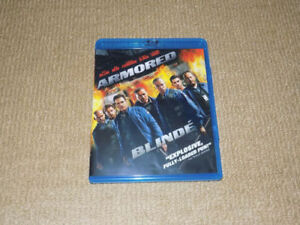 ARMORED, BLU-RAY AND DVD, EXCELLENT CONDITION