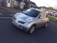 No Text Calls only 2004 Automatic Nissan Micra 5 Doors 1.4 Silver