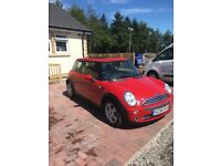Red mini one for sale mint condition inside and out first to see will buy.
