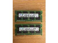 8GB Laptop Memory (2 x 4GB)