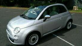 Fiat 500 Lounge Twinair 2012 ,zero road tax