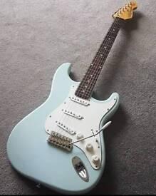 Vintage v6 strat style electric guitar