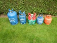 Calor Gas Cylinders. Empty. £15 each.