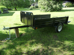 ALL METAL TRAILER  8 FT LONG X 4  FT6  WIDE