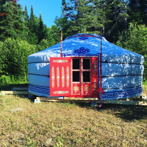 Off grid yurt for sale