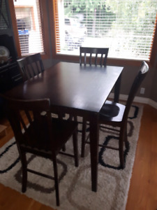 Bar Height Table and Chair Set