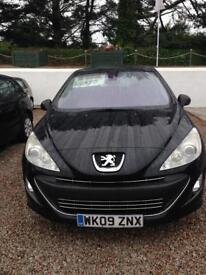 Peugeot 308 12 months mot 6 months warranty