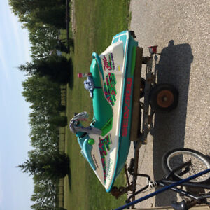 Trade seadoo for sled with reverse