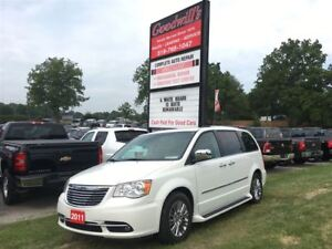 2011 Chrysler Town & Country LIMITED! NAVIGATION! HEATED LEATHER