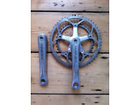 Shimano Dura Ace Double Chainset 53/39 170mm Octalink