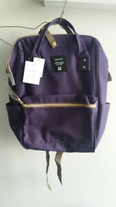 Anello Polyester Canvas Regular Backpack Japanese Bag