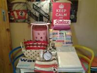 22 ITEMS (LOTS NEW) FOR BEDROOM/LOUNGE AND BATHROOM/EN-SUITE