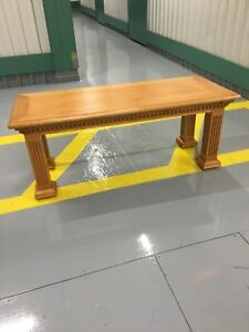Beautiful New Coffee Table in Solid Maple