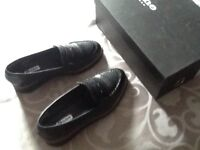 Brand new dune penny loafers size 4