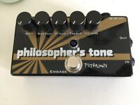 Pigtronix Philospher's Tone - Great Pedal - Almost Brand New!