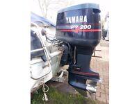 Yamaha 200hp V6 ProV outboard