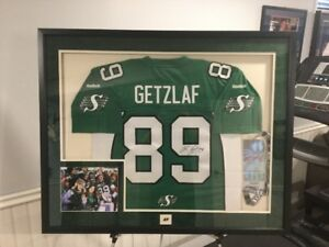 Custom Framed Jersey, Pictures, shadow box