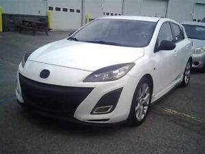 2010 Mazda MAZDA3 SPORT 5SPD!!! LOADED!!! HATCH!!! FULLY CERTIFI