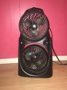 Double fan