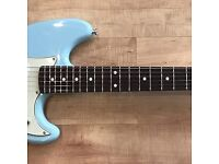 Fender 2016 Duo Sonic in Daphne Blue - new condition electric guitar