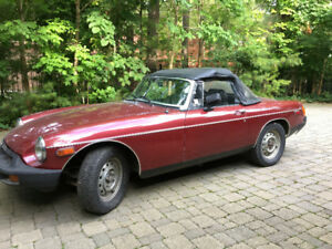 '77 MGB , Low Kilometers, Great Shape!