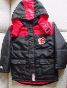 Child's NHL Calgary Flames Winter Coat