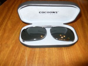 COCOONS Clip-on Sunwear in hard case..