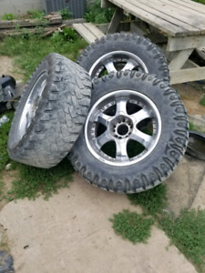 """20"""" dodge ram rims and tires 35"""" tires"""