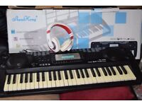 LIQUED CRYSTAL SCREEN KEYBOARD/RECORD AND PLAY/CAN BE SEEN WORKING