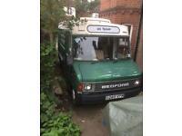 1986 Bedford Ambulance / Camper-van