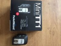 Pocket Wizard Transceiver and Transmitter (Canon fit)
