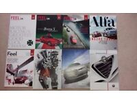 Set of 24 Alfa Romeo Magazines