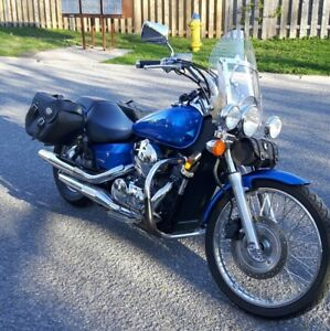 2007 Honda Shadow Loaded With Extras