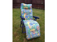 Garden Recliner Chair / Lounger (2 available)