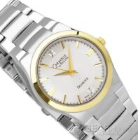 Silver and gold BULOVA men's watch