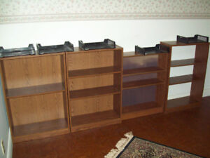 Bookcases, various sizes