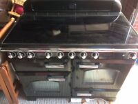 Rangemaster Classic deluxe 110cm with induction hob, grill and double ovens