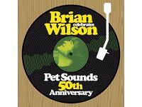 1 ticket: Brian Wilson - Pet Sounds 50th Anniversary @ Kelvingrove Bandstand