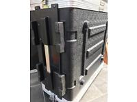 Behringer 4X B215XL and 2X inuke amps with flight case!