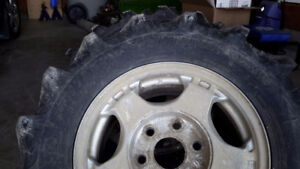 Kleber off road tires on six bolt chevy rims