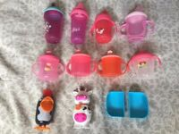 Baby Toddler Tommee Tippee Feeding Bottles Cups Sweet Ice Cream Pots x12 Items