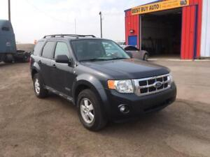 2008 Ford Escape AWD -FINANCING AVAILABLE! CALL 780 918 2696