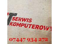SERWIS I NAPRAWA KOMPUTEROW PC / LAPTOPOW / MACBOOKI / APPLE