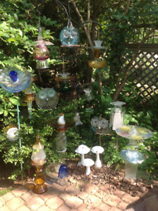 "All things ""glass ""for your garden"
